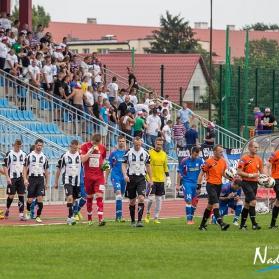 Puchar Polski 2015/16: Wisła Sandomierz 0-1 Sandecja Nowy Sącz