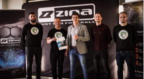 Just4Football - dystrybutor marki ZINA partnerem technicznym Orła Myślenice!