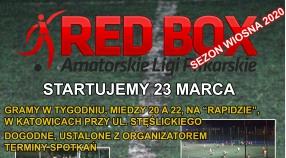 LIGA RED BOX - ZAPISY TRWAJĄ - START 23 MARCA