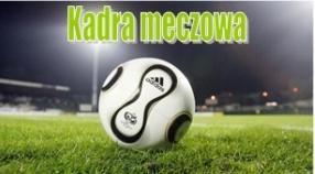 Kadra na mecz mistrzowski Pogoń Zduńska Wola - Skrzynex Łaszew