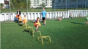 Trening drużyn Żak i Skrzat