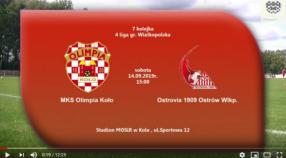 SENIORZY: MKS Olimpia Koło - Ostrovia Ostrów Wlkp. [VIDEO]