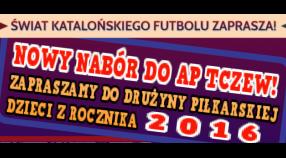 Trwa nabór do drużyny AP Tczew ROCZNIK 2016!