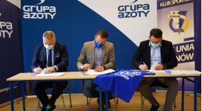 Nasza szkółka zostaje Partnerem ZKS Unii Tarnów