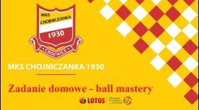 Zadanie domowe - ćwiczenia BALL MASTERY październik II 2020