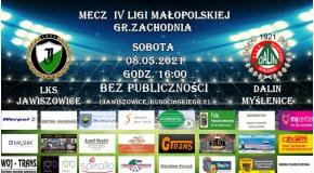 Zapraszamy na 17.kolejkę IV ligi małopolskiej gr. zachodnia 2020/21 !!!
