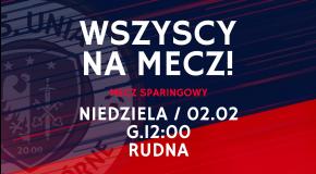 Sparing z drużyną Odra Chobienia - 02.02.2020 12:00