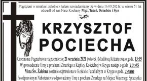 Nie żyje były prezes LKS Nafta Kryg - Krzysztof Pociecha.