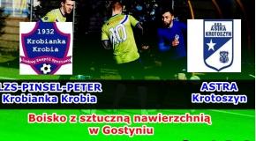 Sparing NR:1 z Astrą Krotoszyn !!!