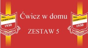 Ćwicz w domu - ZESTAW 5