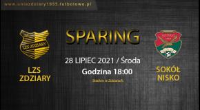 Sparing LZS Zdziary - Sokół Nisko.