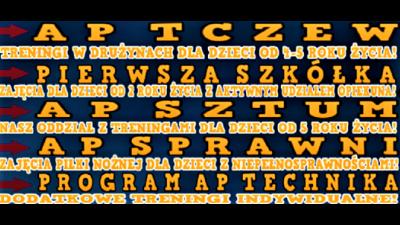 AP Tczew/ AP Sztum/ AP Sprawni – start treningów!