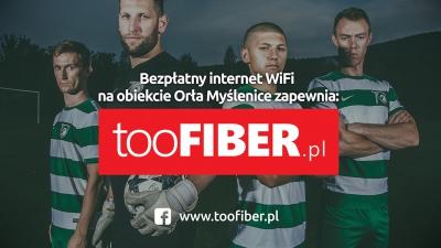 Firma tooFIBER zapewnia bezpłatny internet na obiektach Orła!