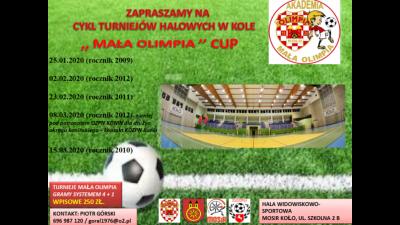 Zapraszamy do udziału w cyklu turniejów MAŁA OLIMPIA CUP 2020