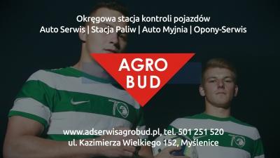 AGROBUD Myślenice od lat w naszej biało-zielonej drużynie!