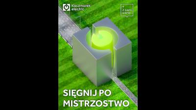 Kaczmarek Electric SA wspiera nasz klub!