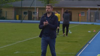 Trener Arkadiusz Bator: dzisiaj gra w piłkę nas cieszyła
