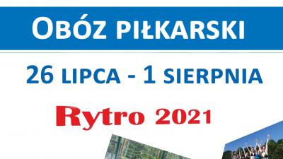 Obóz Piłkarski RYTRO 2021