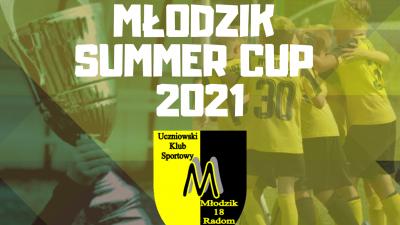 Zapraszamy na MŁODZIK SUMMER CUP 2021!!!