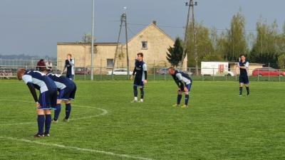 Przegrana w Borucinie na początek.