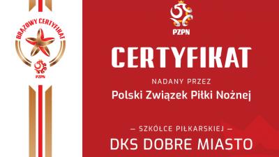 DKS DOBRE MIASTO Z CERTYFIKACJĄ!!!