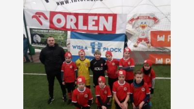 ROCZNIK 2011: Udany występ w turnieju o Puchar Prezesa SSM WISŁA  Płock