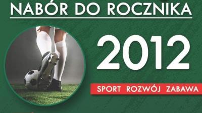 Nabór do drużyny rocznika 2012
