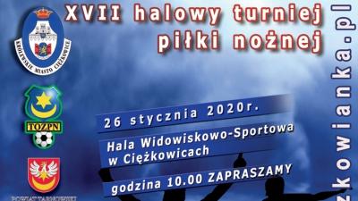 26 stycznia Halowy Turniej Piłki Nożnej - Ciężkowice 2020