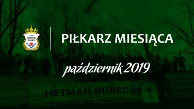 Piłkarz miesiąca - październik 2019
