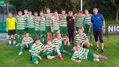 U15: Wygrana trampkarzy ze Szkołą Futbolu Staniątki