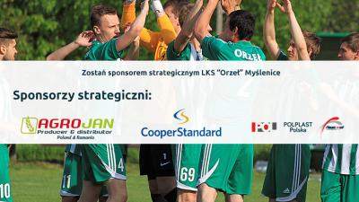 Zostań sponsorem wspierającym Orła Myślenice - zapraszamy do współpracy!