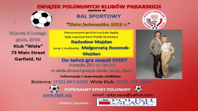 """Bal Sportowy ,,Złota 11"""""""" ZPKP"""