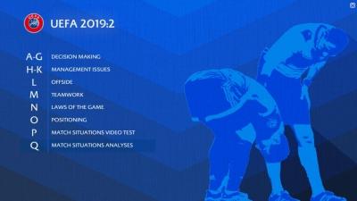 UEFA Refereeing Assistance Programme 2019:2