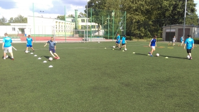 Akademia Piłkarska AMS wraca do treningów.