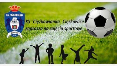 KS Ciężkowianka Ciężkowice zaprasza na zajęcia sportowe
