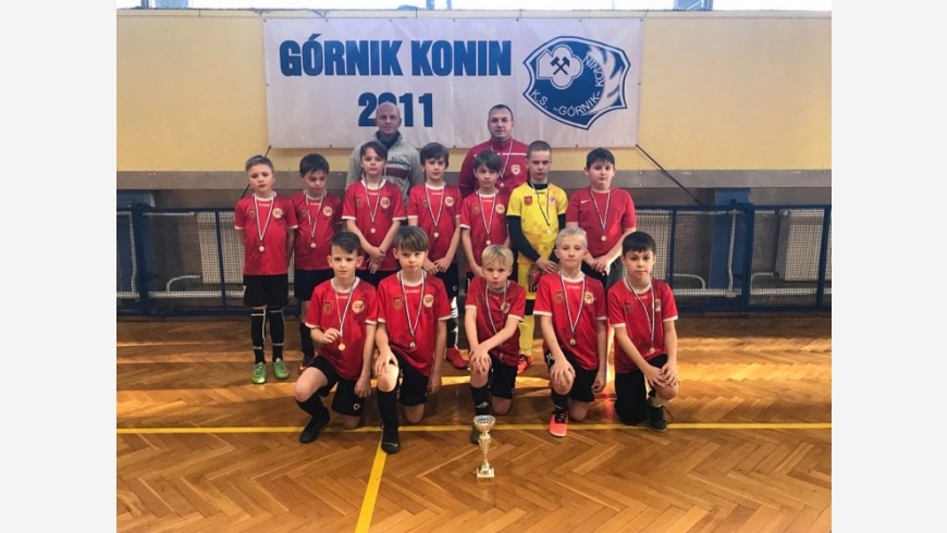 ROCZNIK 2011: Wygrana z GÓRNIK CUP w Koninie