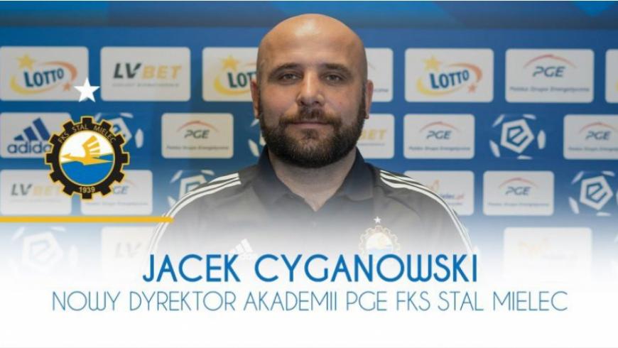 Trener Cyganowski dyrektorem Akademii PGE FKS Stal Mielec