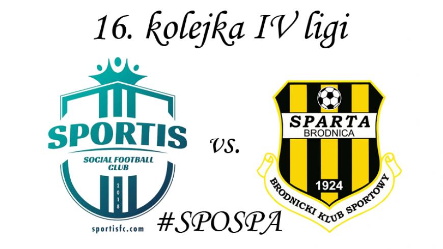 16. kolejka: Sportis Łochowo vs. Sparta