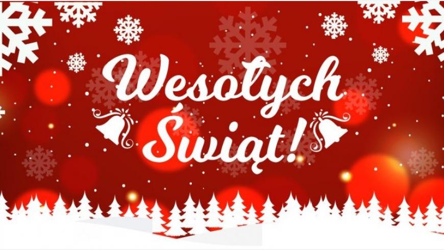 Dobrych i spokojnych świąt!
