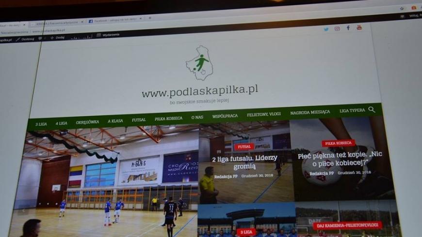 www.podlaskapilka.pl - nowy adres portalu