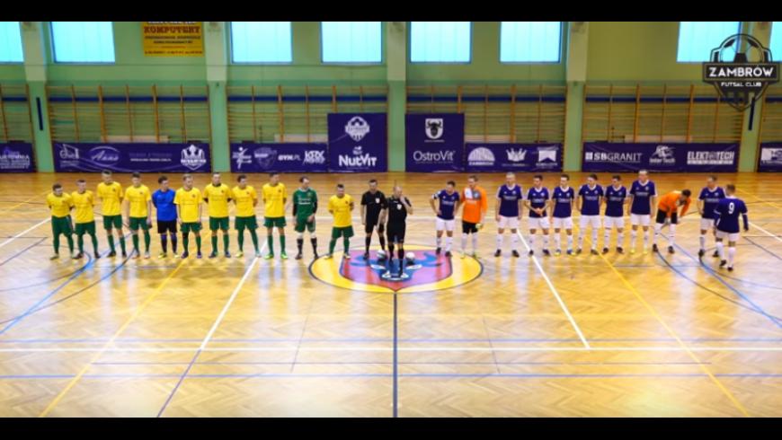 Co słychać w II lidze futsalu? FC Zambrów niezagrożony