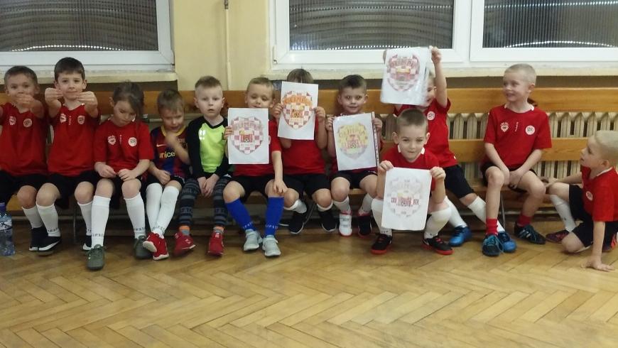 ROCZNIK 2014/2015: Pokolorowali herb MKS Olimpii Koło z okazji 100-lecia