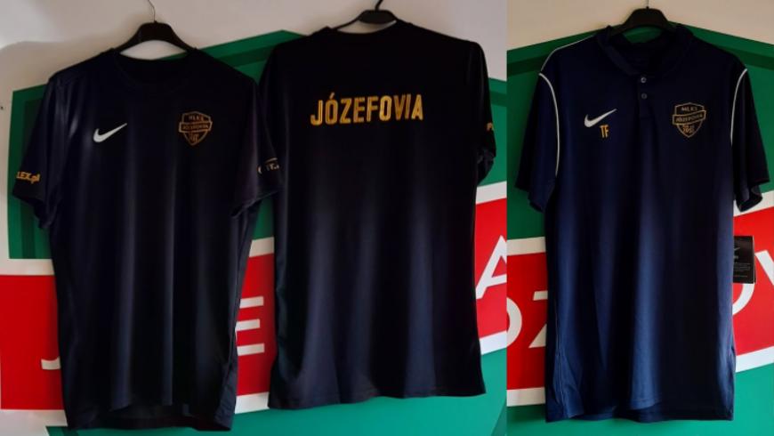 Jubileuszowe koszulki MLKS Józefovia