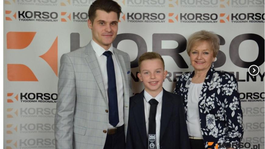 Emil Ziobroń talentem roku TR Korso