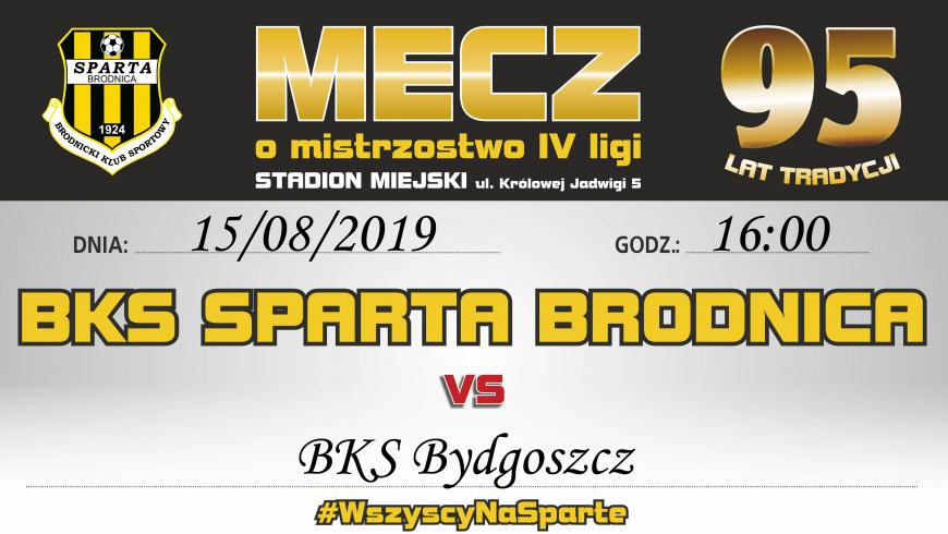 2. kolejka: Sparta vs. BKS Bydgoszcz