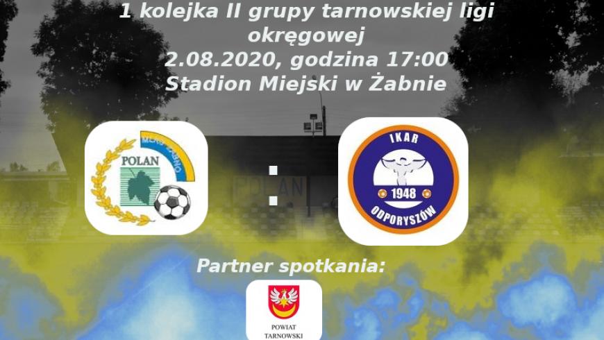 Zapowiedź pierwszej kolejki tarnowskiej II grupy ligi okręgowej!