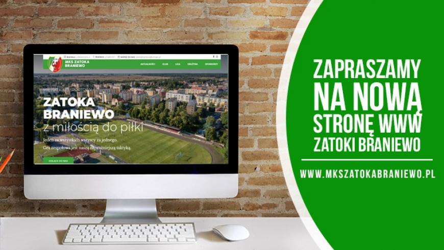 Nowa klubowa strona internetowa.