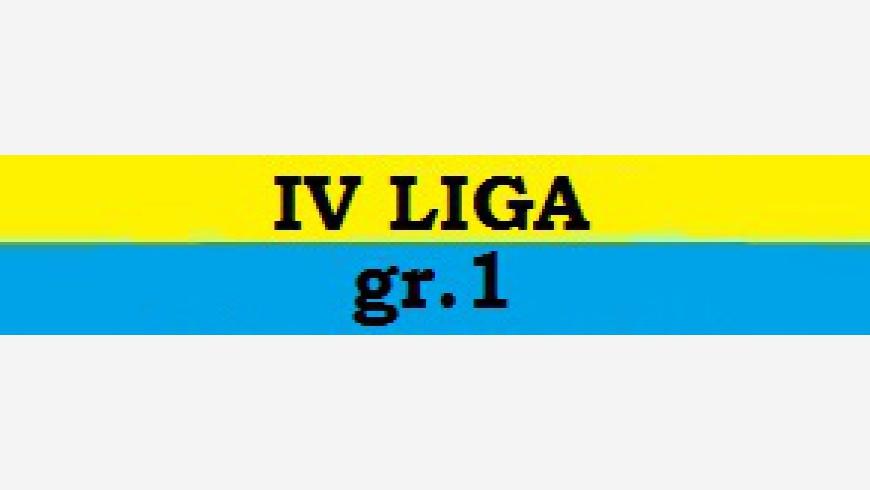 IV: HARMONOGRAM SPARINGÓW 4 liga gr.1