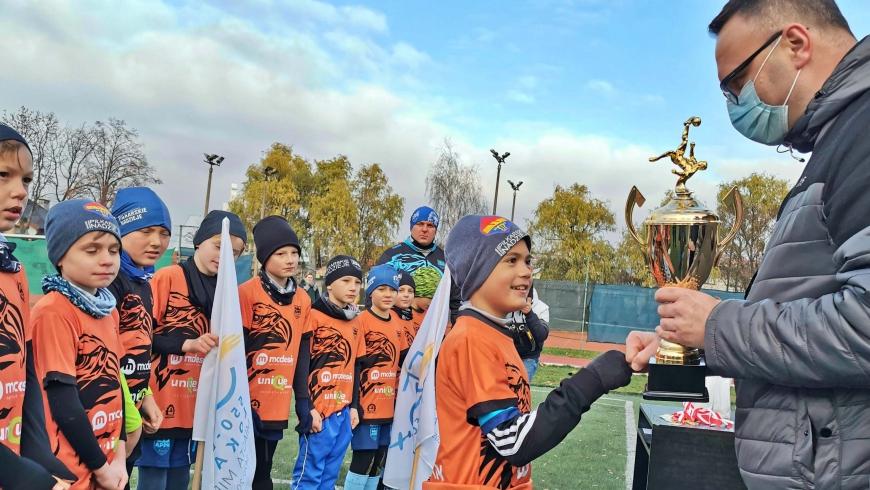 Rocznik 2011 wygrywa turniej z okazji 550 rocznicy lokacji Mielca