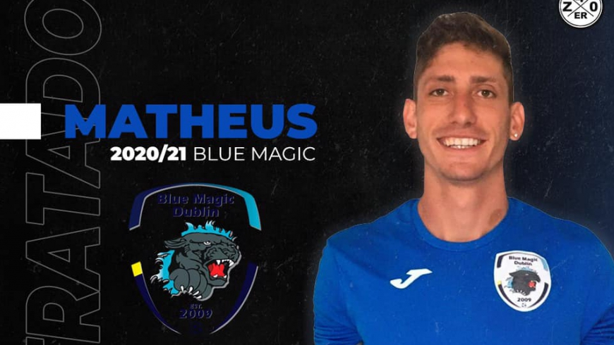 Matheus w Blue Magic Dublin!